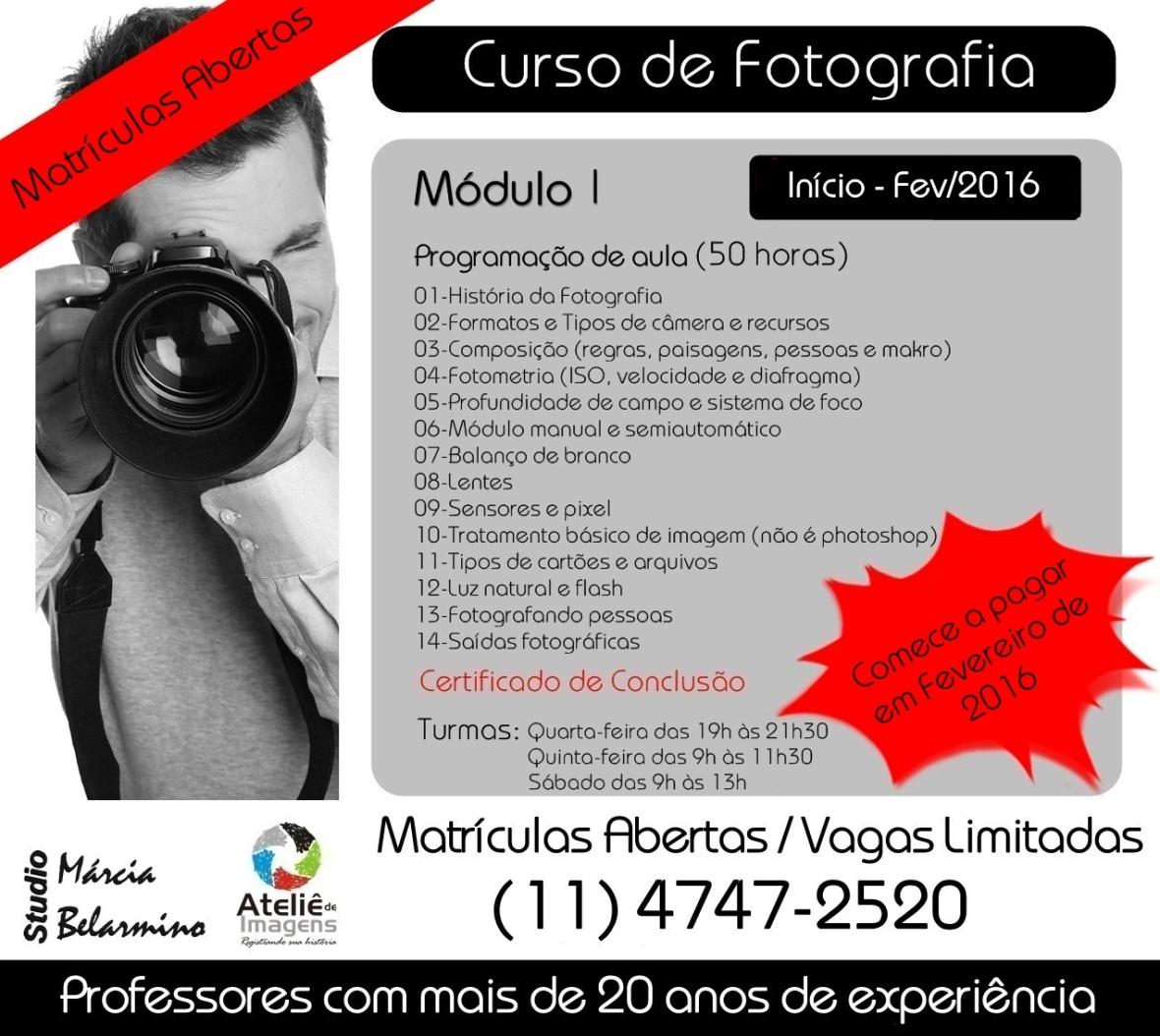 Divulgação Módulo I - FEVEREIRO 2016