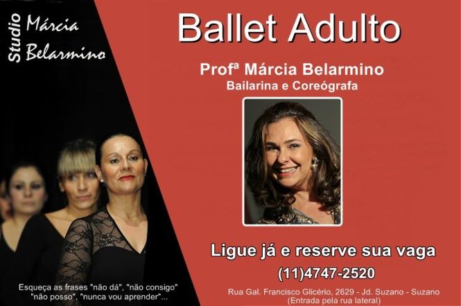 Divulgação - Ballet Adulto 2016 - OFICIAL