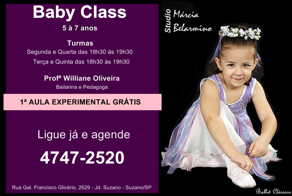 Promoção - Baby Class 2016