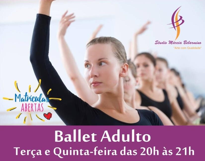 Ballet Adulto Opção 1